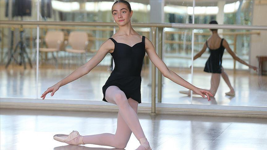 wholesale dealer 9106b 24d13 Young Turkish ballerina wins scholarship to prestigious ...