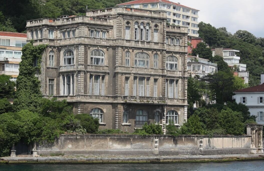 Самый дорогой в Турции особняк выставлен на этой неделе на продажу по цене в  550 миллионов лир
