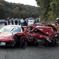 Most Expensive Car Crash