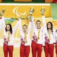Paralympic goalball team brings Turkey first Olympic team gold