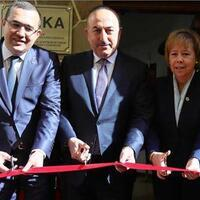 Turkish FM inaugurates TİKA office in Mexico