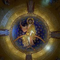 Giant mosaic unveiled in world's second largest Orthodox church