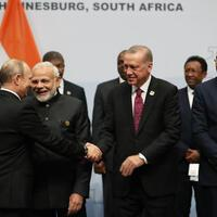 Erdoğan suggests adding 'T' to BRICS