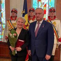 Moldova honors local head of Turkish state aid agency