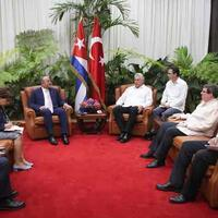Turkey reitreates support to end embargo on Cuba