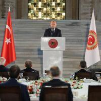 Erdoğan stresses 'national unity against threats'