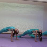Turkish yoga athletes' message: Stop water pollution - Turkey News
