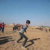 Father's Day comes with grief to Palestinian children