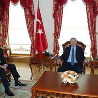 Erdoğan receives new president of Iraq's Kurdish region