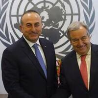 Turkish top diplomat, UN chief discuss 'action plan' - Turkey News