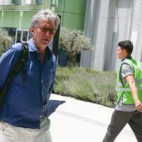 Eric Clapton leaves Turkey's Kuşadası after dog's death
