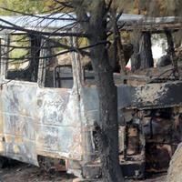 Suspect detained over Marmara Island blaze
