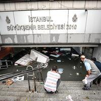 Istanbul recovers after heavy rains