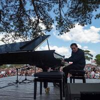 Turkish pianist Say performs against gold mine deforestation in Kaz Mountains