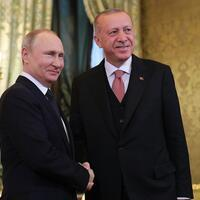 President Erdoğan holds phone call with Russia's Putin