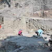 Ongoing excavations in coastal city of Mersin