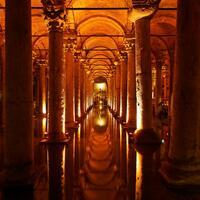 Istanbul's 'Sunken Cistern' makes a splash with its mystical atmosphere