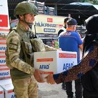 Turkey's disaster response agency brings aid to Syria - Turkey News