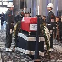 Armenian church hosts funeral ceremony for Korea war veteran - Turkey News