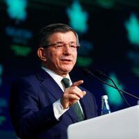 Former Turkish PM Davutoğlu launches 'Future Party'
