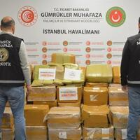 Turkey foils drug smuggling bid at Istanbul Airport - Turkey News
