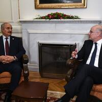 Haftar seeks support in Greece