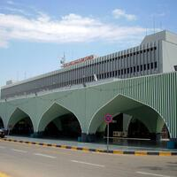 Tripoli airport suspends flights after coming under fire