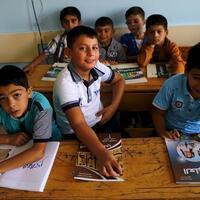 Up to 650,000 refugee kids enrolled in schools