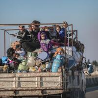 Over 31,000 civilians flee Syria's Idlib over last two days