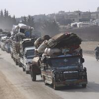 Over 39,000 flee northwest Syria as Assad pushes closer to Idlib