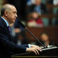 Erdoğan says Turkey will solve issue of using airspace in Idlib