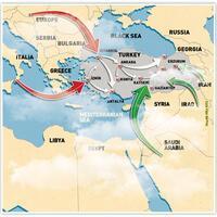 Virus spreading via different routes in Turkey