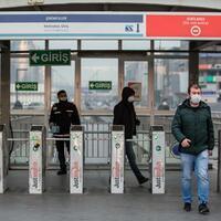 Istanbul mass transit riders must wear masks