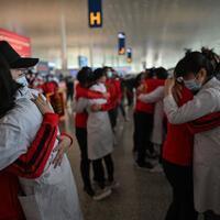 Latest on the coronavirus China's virus pandemic epicenter Wuhan ends