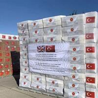 Turkey sends second batch of medical supplies to UK