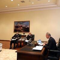 Defense Minister Akar joins NATO meeting on COVID-19