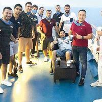 Turkish staff travel on luxury US cruise ship to return home