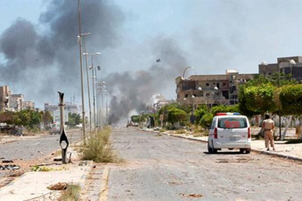 Anti-ISIL forces retake central area in Libya's Sirte - World News