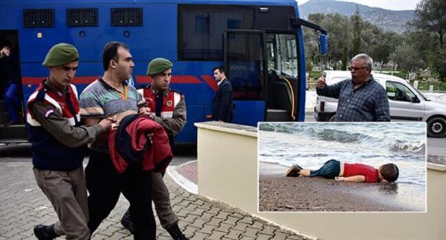 Two smugglers sentenced to four years in jail after Aylan Kurdi's death