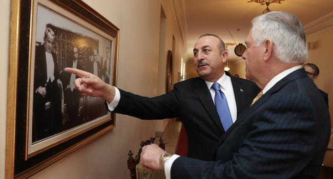 Full text of joint Turkey-US statement issued after Tillerson-Çavuşoğlu meeting