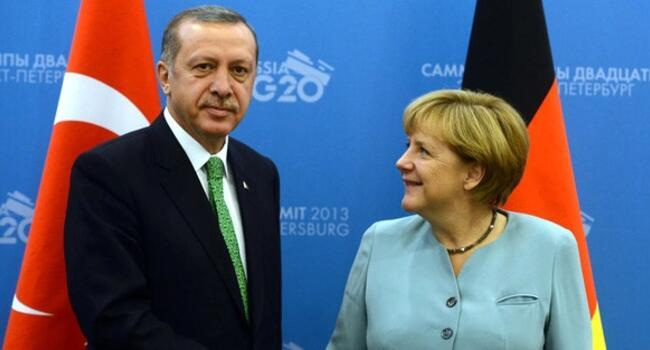Erdoğan, Merkel discussed to improve ties: Turkish presidential source