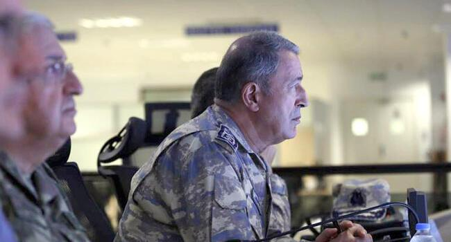 Turkish army chief, NATO general discuss Manbij roadmap