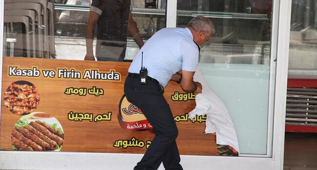 Istanbul municipality takes down shop signs in Arabic
