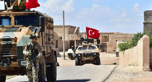 Turkish army conducts 10th round of patrols in Manbij