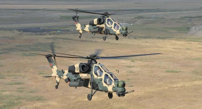 Pakistan to buy 30 Turkish attack helicopters