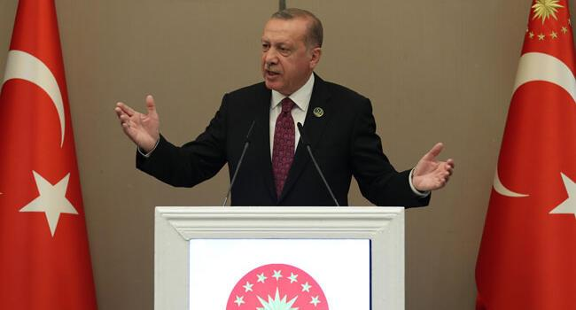 Turkey 'won't take step back' against US: Erdoğan