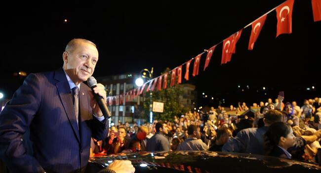 If they have their dollars, we have our people and God, Erdoğan says
