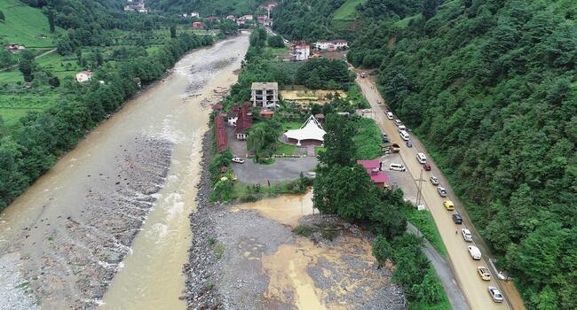 Flash floods kill one in Turkeys Black Sea province Ordu