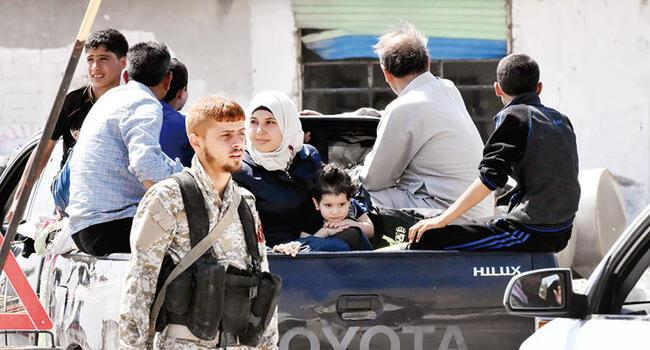 250,000 Syrians may flee to Turkey from Idlib: Turkish intelligence
