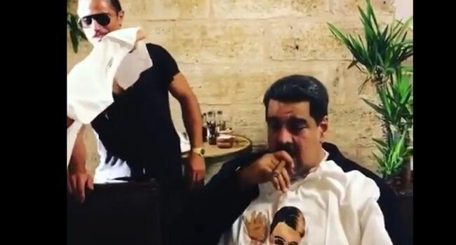 Salt Bae treat for Venezuela's Maduro draws opponents' fury
